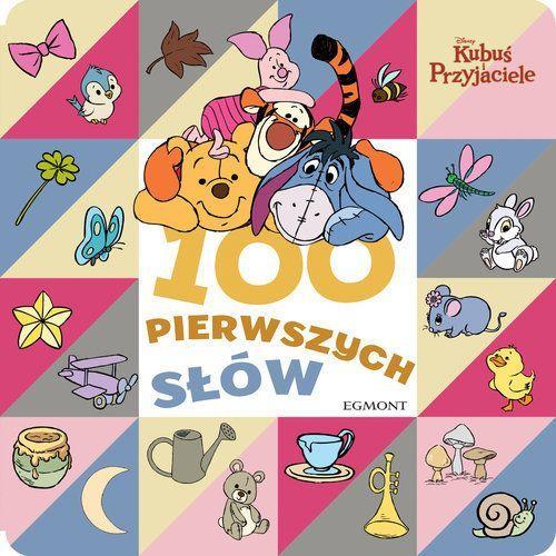 Książki dla dzieci, Kubuś i przyjaciele 100 pierwszych słów - Praca zbiorowa (opr. kartonowa)