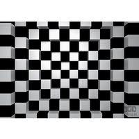 Fototapety, Fototapeta Black + White Squares 968