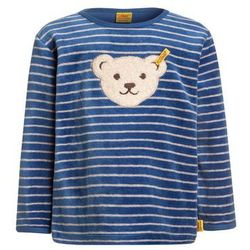 Steiff Collection 1/1 ARM NICKY BABY NEWBORN WINTER COLOR Bluza federal blue