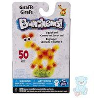 Kreatywne dla dzieci, Bunchems Żyrafa Zestaw Kumple Kolorowe Rzepy 50 el.