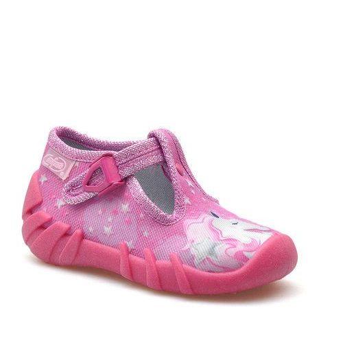 Obuwie domowe dziecięce, Kapcie dziecięce Befado 110P364 Różowe