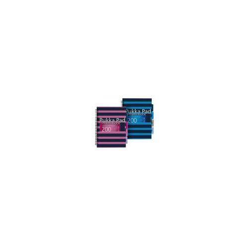 Zeszyty, Kołozeszyt Project Book Navy B5 # z przekładkami 7051 Navy 200k niebieski