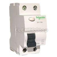 Włączniki, Wyłącznik różnicowoprądowy 25A 1-fazowy, różnicówka ACTI9 Schneider
