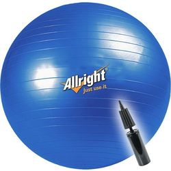 Piłka gimnastyczna Allright 65cm + pompka