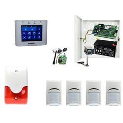 Domowy system alarmowy Ropam NeoGSM-IP-PS + 4xBosch+ TPR-2W + Sygnalizator