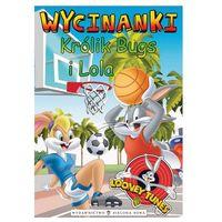 Książki dla dzieci, Wycinanki Królik Bugs i Lola (opr. miękka)