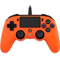 Gamepady, Kontroler BIG BEN Nacon Compact Controller Pomarańczowy do PS4