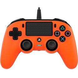 Kontroler BIG BEN Nacon Compact Controller Pomarańczowy do PS4