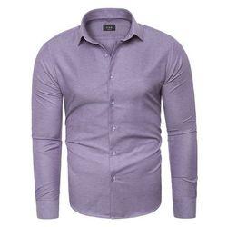 Wyprzedaż koszula męska C.S.S 275 - fioletowa