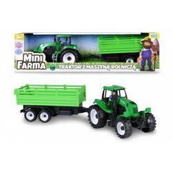 Traktor z maszyną rolniczą, mówiący po polsku. Darmowy odbiór w niemal 100 księgarniach!