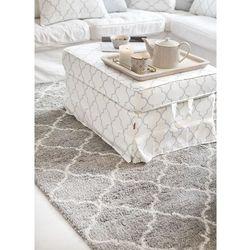 Dekoria Dywan Royal Marocco light grey/cream 67x130cm, 67 × 130 cm