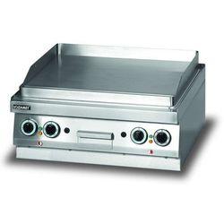 Płyta grillowa elektryczna, gładka, 6,8 kW, 700x650x270 mm | LOZAMET, LEB630