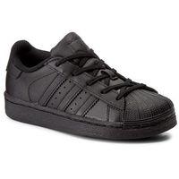 Buty sportowe dla dzieci, Buty adidas - Superstar Foundation C BA8381 Cblack/Cblack/Cblack
