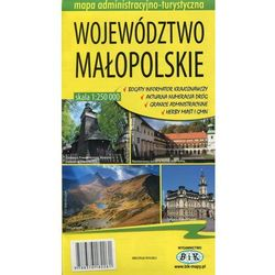 Województwo małopolskie mapa administracyjno-turystyczna 1:250 000