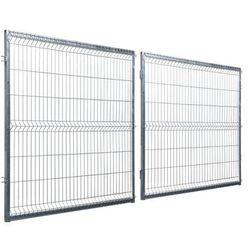 Brama dwuskrzydłowa STARK 400 x 150 cm ocynk POLBRAM