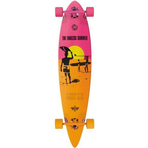 Pozostały skating, longboard DUSTERS - Endless Summer Yellow/Orange/Pink (YELLOW ORANGE PINK) rozmiar: 42