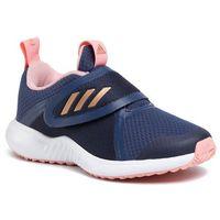 Buty sportowe dla dzieci, Buty adidas - FortaRun X Cf K EF9714 Tech Indigo/Copper Metallic/Glow Pink