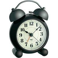 Zegary, Budzik TFA 60.1014, analogowy, Kwarcowy, Ilość alarmów 1, (SxWxG) 87 x 120 x 60 mm