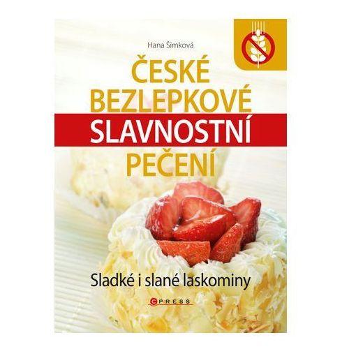Pozostałe książki, České bezlepkové slavnostní pečení Hana Šimková