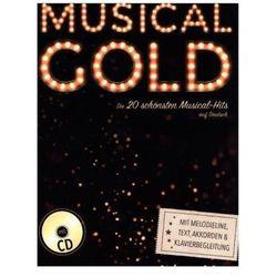 Musical Gold - Die 20 schönsten Musical-Hits auf Deutsch, m. Audio-CD Heumann, Hans-Günter