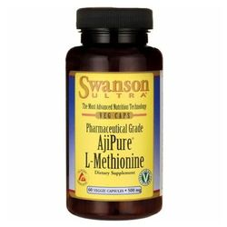 AjiPure L-metionina 500mg 60 kapsułek SWANSON