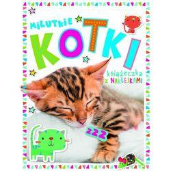 Milutkie kotki Książeczka z 250 naklejkami- bezpłatny odbiór zamówień w Krakowie (płatność gotówką lub kartą).