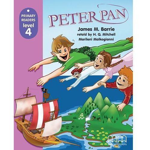 Książki do nauki języka, Peter Pan primary readers level 4 (opr. miękka)