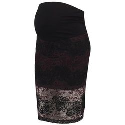 Anna Field MAMA Spódnica ołówkowa burgundy/black
