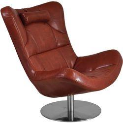 Fotel tapicerowany Foggia Brown Oferta specjalna! Teraz kupisz 47% taniej.