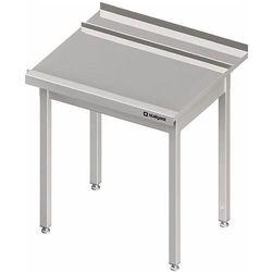 Stół wyładowczy prawy bez półki do zmywarki kapturowej Silanos 1000x740x880 mm | STALGAST, 982427100