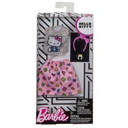 Barbie Hello Kitty szary top i różowa spódnica