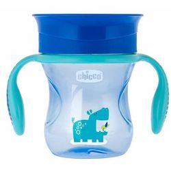 Chicco Kubek 360° do nauki samodzielnego picia 200 ml: Kolor - Niebieski