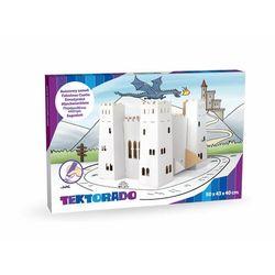 Tekturowy Baśniowy Zamek do kolorowania