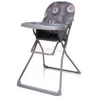 Krzesełka do karmienia, 4Baby Krzesełko do karmienia FLOWER szare