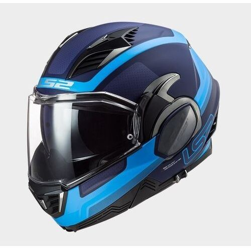 Kaski motocyklowe, KASK LS2 FF900 VALIANT II ORBIT MATT BLUE