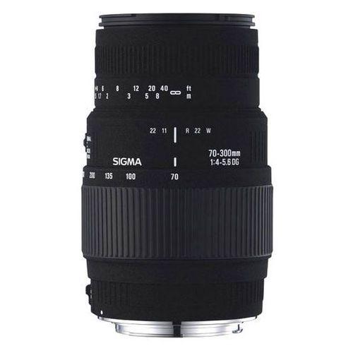 Obiektywy fotograficzne, Obiektyw SIGMA AF 70-300/4-5.6 DG Macro Pentax/Samsung DARMOWY TRANSPORT