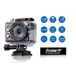 ISAW Extreme Szerokokątna kamera sportowa HDMI FULL HD 60fps WiFi