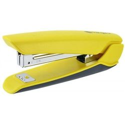 Zszywacz KANGARO Nowa-10/S, zszywa do 15 kartek, plastikowy, w pudełku PP, żółty