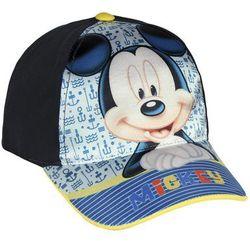 Czapka z daszkiem Myszka Mickey - Miki czarna