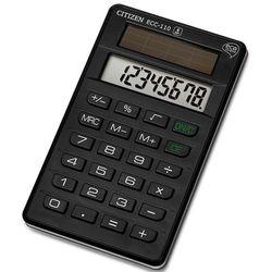 Kalkulator biurowy CITIZEN ECC-110, 8-cyfrowy, 118x70mm, czarny