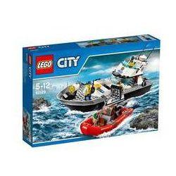 Zestawy Lego® City Police 60129 Policyjna łódź patrolowa