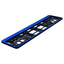 Ramka pod tablicę rejestracyjną HP Niebieskie 1 szt - Niebieski