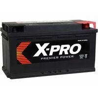 Akumulatory samochodowe, Akumulator X-PRO 90Ah 740A EN niski Prawy Plus