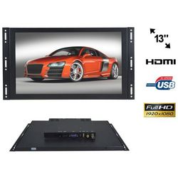 "NVOX OP1338VH IPS Monitor open frame IPS LED 13"" FULL HD VGA HDMI USB AV 12V 230V"