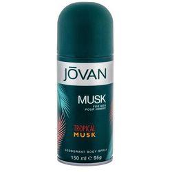 Jovan Tropical Musk dezodorant 150 ml dla mężczyzn