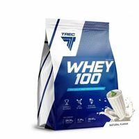 Odżywki białkowe, TREC WHEY 100 2275g 100% BIAŁKO WPC NATURAL