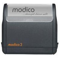 Stemple i akcjesoria, Super Pieczątka Modico 3 Czarna Super Pieczątka Modico 3 Czarna
