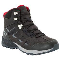 Męskie buty trekkingowe VOJO HIKE XT TEXAPORE MID M phantom / red - 8,5