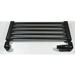 Zestaw łazienkowy osiowo prawy na PEX Schlosser Lux 6037 00056 Czarny RAL 9005