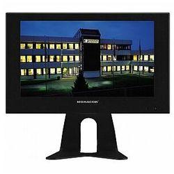 MONACOR TFT-810LED Monitor kolorowy LCD z podświetleniem diodowym, w metalowej obudowie